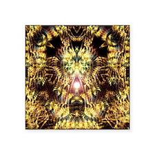 "DMT Shaman Visions Square Sticker 3"" x 3"""