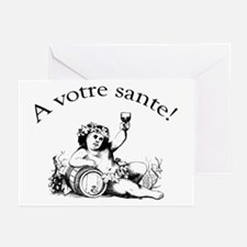 French Toast Wine Greeting Cards (Pk of 10)
