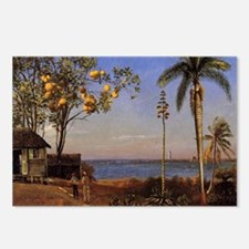 A View in the Bahamas -Bi Postcards (Package of 8)