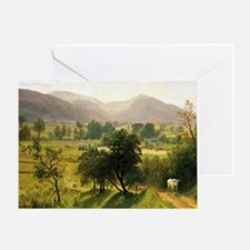Conway Valley, New Hampshire - Alber Greeting Card