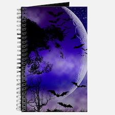 Purple Night Moon Journal