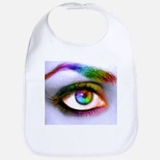 Colorful Eye Bib