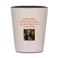 bookstore Shot Glass