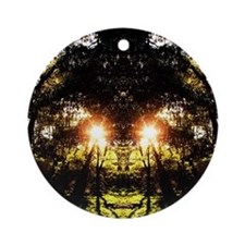 DMT Ferntree Forest Round Ornament