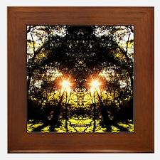 DMT Ferntree Forest Framed Tile
