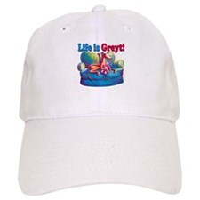 Life is Greyt! Baseball Cap