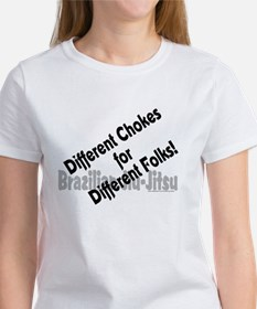 Different chokes, different f Tee