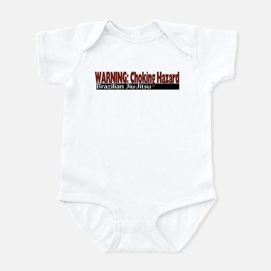 Warning: Choking hazard Infant Bodysuit