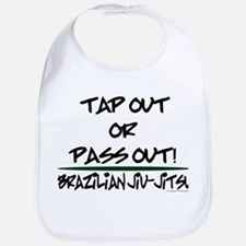 Tap out or pass out Bib