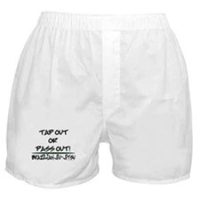 Tap out or pass out Boxer Shorts