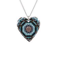 Om Shanti Fractals Necklace