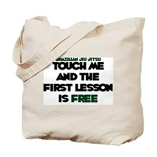 Touch me, 1st lesson FREE Tote Bag
