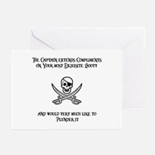 Captain's Compliments Greeting Cards (Pk of 10