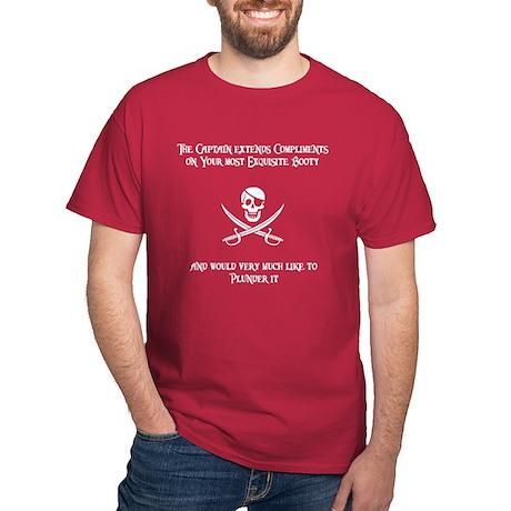 Captain's Compliments Dark T-Shirt