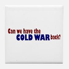 Cold War Tile Coaster