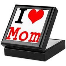 I Love Mom Keepsake Box