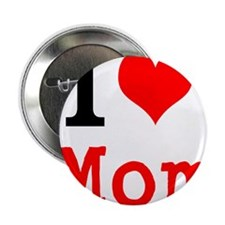 """I Love Mom 2.25"""" Button (100 pack)"""