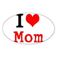 I Love Mom Decal