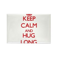 Keep calm and Hug Long Magnets