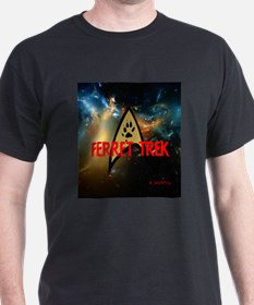 FERRET TREK SPACE T-Shirt