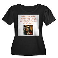 vegetable soup Plus Size T-Shirt