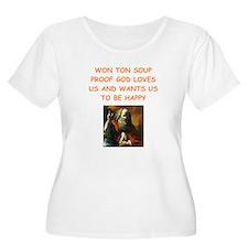 won ton soup Plus Size T-Shirt