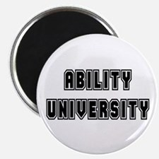 Ability University Magnet