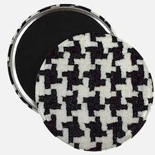 Black & white pattern Magnet
