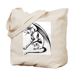 Tribal Griffin Tote Bag