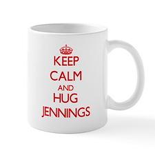 Keep calm and Hug Jennings Mugs