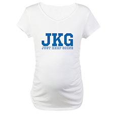 Just Keep Going Blue Shirt