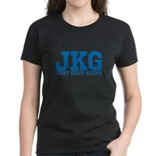 Just Keep Going Blue T-Shirt