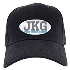 Just Keep Going Gray Blue Baseball Hat