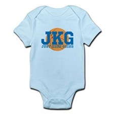 Just Keep Going Basketball Blue Body Suit