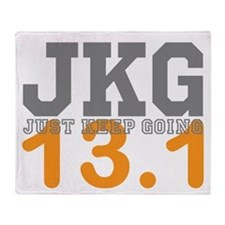 Just Keep Going 13.1 Throw Blanket