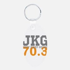 Just Keep Going 70.3 Keychains