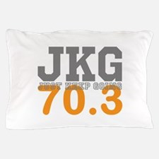 Just Keep Going 70.3 Pillow Case