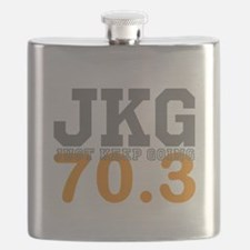 Just Keep Going 70.3 Flask