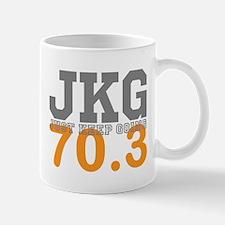 Just Keep Going 70.3 Mugs