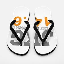 Just Keep Going 140.6 Flip Flops