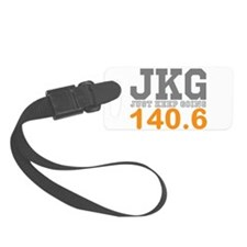 Just Keep Going 140.6 Luggage Tag