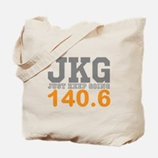 Just Keep Going 140.6 Tote Bag