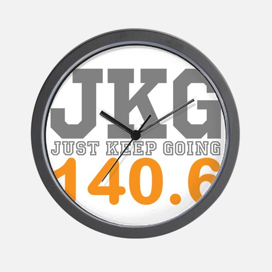 Just Keep Going 140.6 Wall Clock