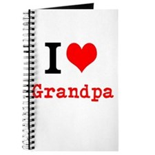 I Love Grandpa Journal