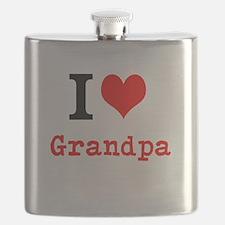 I Love Grandpa Flask