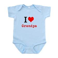 I Love Grandpa Body Suit
