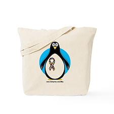 Autism Penguin Tote Bag
