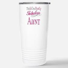 Funny Worlds greatest aunt Travel Mug