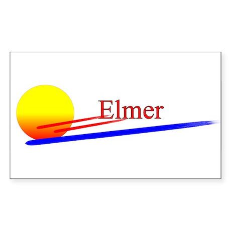 Elmer Rectangle Sticker