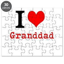 I Love Granddad Puzzle